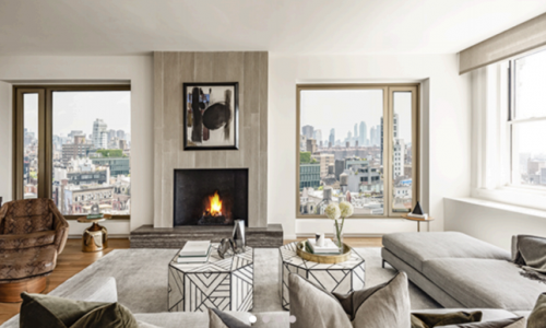 This luxurious Manhattan condo is crafted by rock and roll icon Lenny Kravitz
