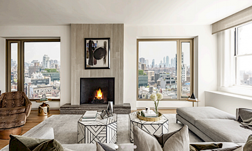 Musician Lenny Kravitz Brings His Trademark Flair To Luxury Condo Building In New York